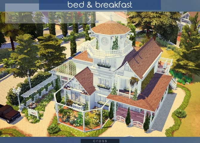 Bed & Breakfast house at Cross Architecture image 7914 670x479 Sims 4 Updates