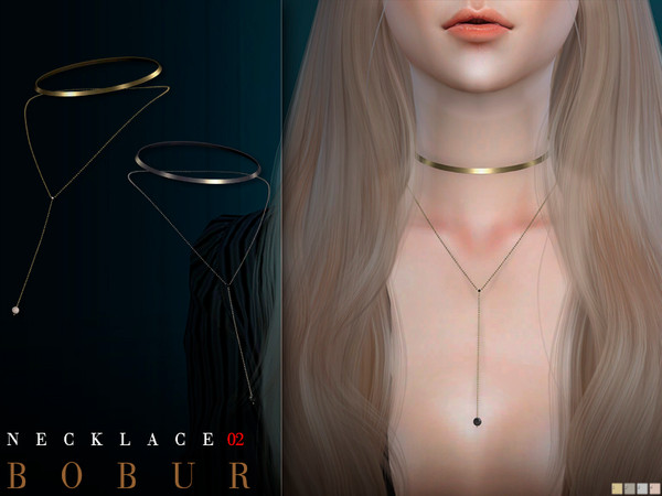 Sims 4 Necklace 02 by Bobur3 at TSR