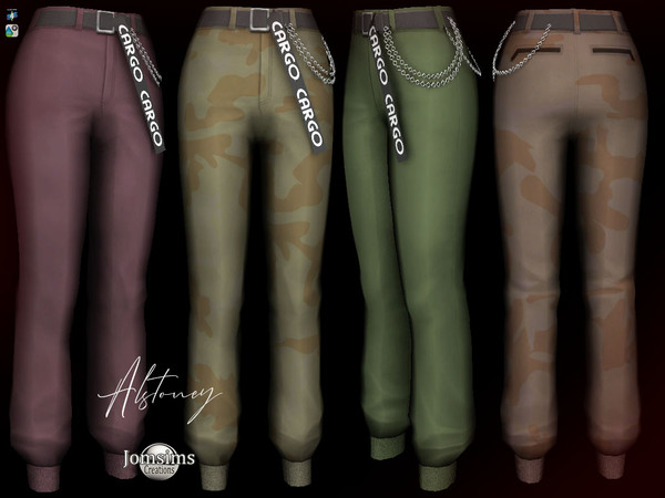 Sims 4 Alstoney Pants by jomsims at TSR