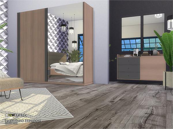 Escondido Bedroom by ArtVitalex at TSR image 796 Sims 4 Updates