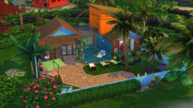 Sulani Town Family Home by Caradriel at Mod The Sims image 798 670x377 Sims 4 Updates
