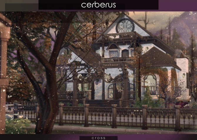 Cerberus house at Cross Design image 8012 670x479 Sims 4 Updates