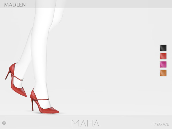 Madlen Maha Shoes by MJ95 at TSR image 8016 Sims 4 Updates