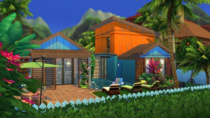Sulani Town Family Home by Caradriel at Mod The Sims image 807 670x377 Sims 4 Updates