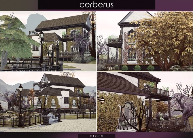 Cerberus house at Cross Architecture image 8117 670x479 Sims 4 Updates