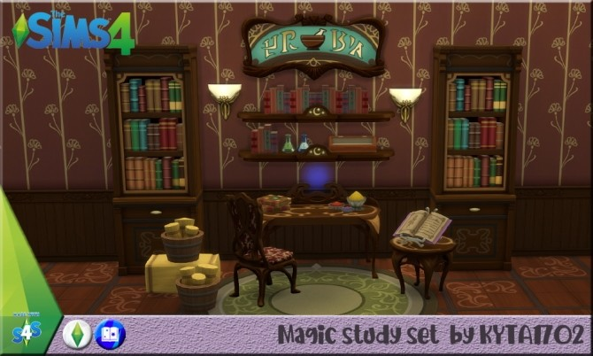 Magic Study ROM maxis match at Simmetje Sims image 8123 670x402 Sims 4 Updates
