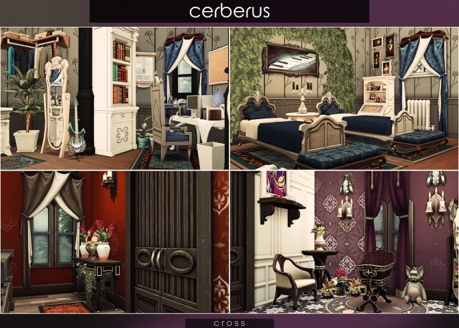 Cerberus house at Cross Architecture image 8214 670x479 Sims 4 Updates
