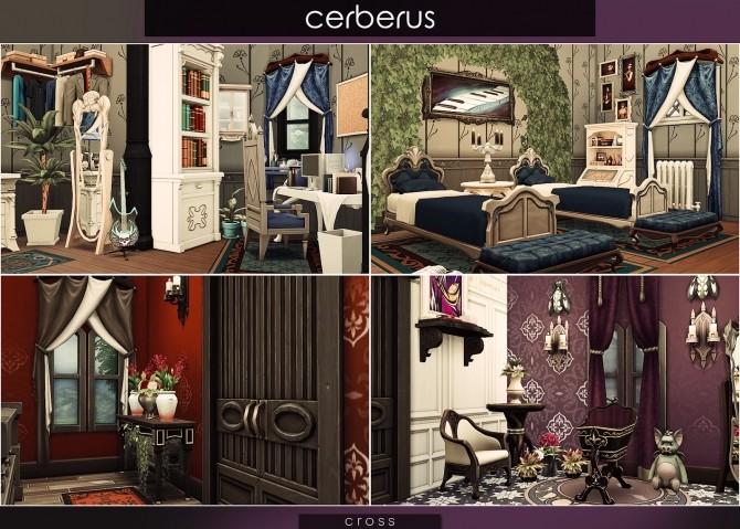 Cerberus house at Cross Design image 8214 670x479 Sims 4 Updates