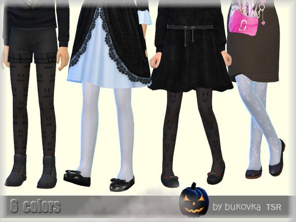 Tights Pumpkin child by bukovka at TSR image 8219 Sims 4 Updates