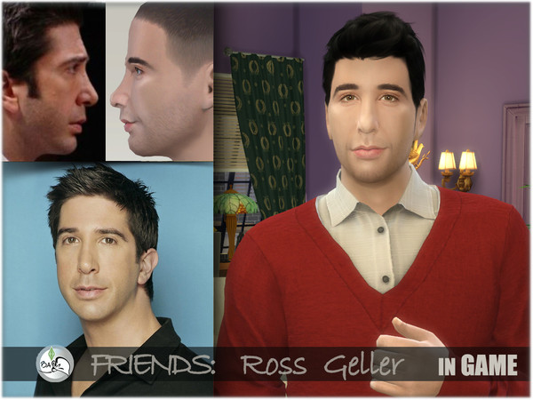 FRIENDS   Ross Geller by BAkalia at TSR image 827 Sims 4 Updates