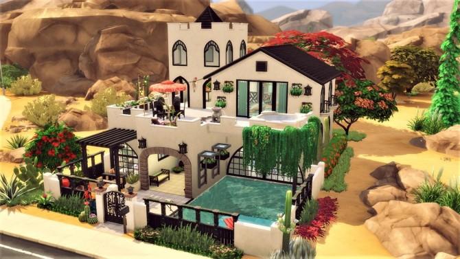 Canyon Lane house at Agathea k image 828 670x377 Sims 4 Updates