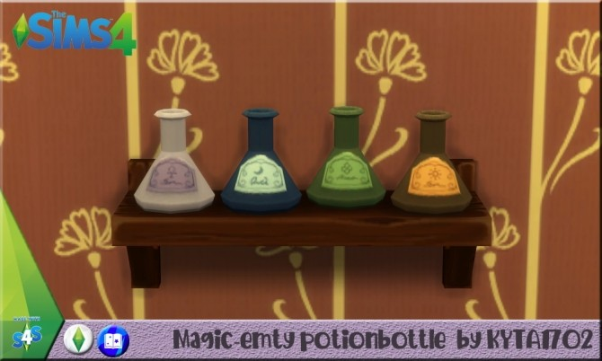 Sims 4 Magic Clutter set by Kyta1702 at Simmetje Sims