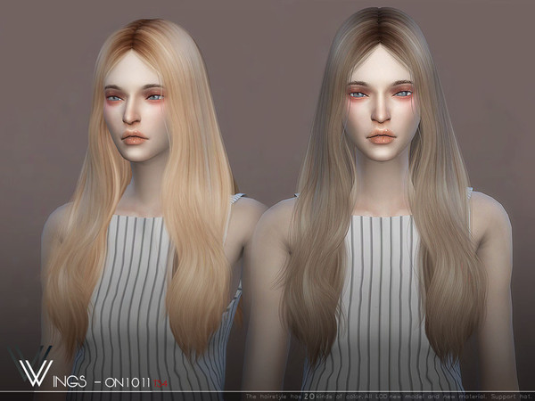 WINGS ON1011 hair by wingssims at TSR image 836 Sims 4 Updates