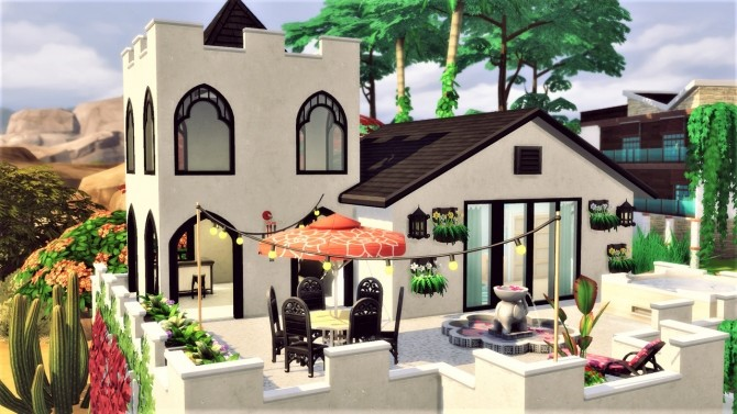 Canyon Lane house at Agathea k image 837 670x377 Sims 4 Updates
