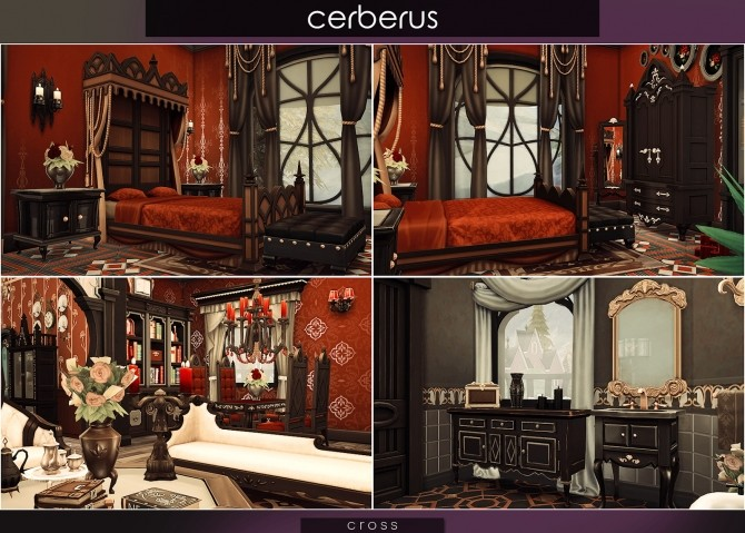 Cerberus house at Cross Architecture image 8412 670x479 Sims 4 Updates