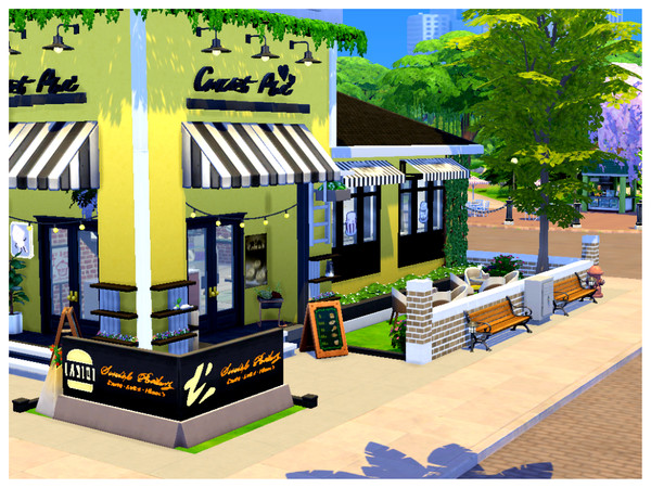 The Corner Bakery by Mini Simmer at TSR image 849 Sims 4 Updates
