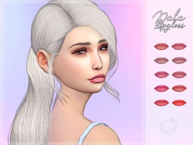 Sims 4 Nala Lipgloss at Yuumia Universe CC