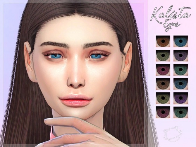 Sims 4 Kalista Eyes at Yuumia Universe CC