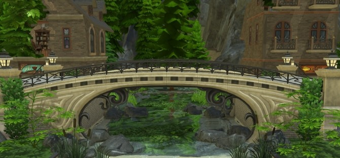 Old and usable stone bridge at Fab Flubs image 868 670x313 Sims 4 Updates