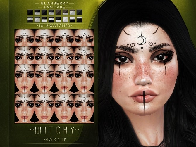 Witchy makeup at Blahberry Pancake image 871 670x503 Sims 4 Updates