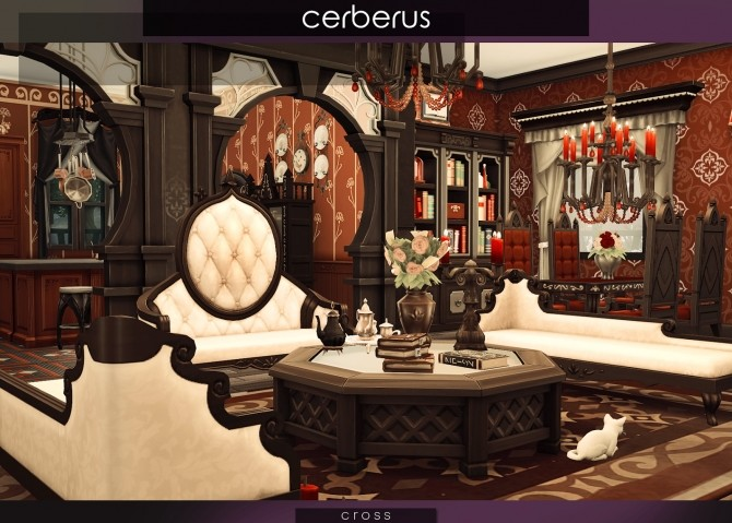 Sims 4 Cerberus house at Cross Design