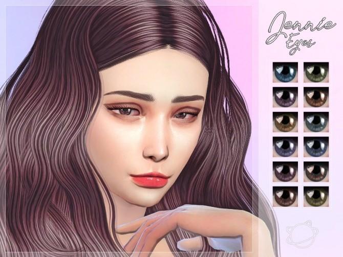 Sims 4 Jennie Eyes at Yuumia Universe CC