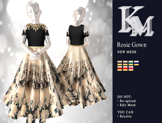 Rosie Gown at KM image 8811 Sims 4 Updates
