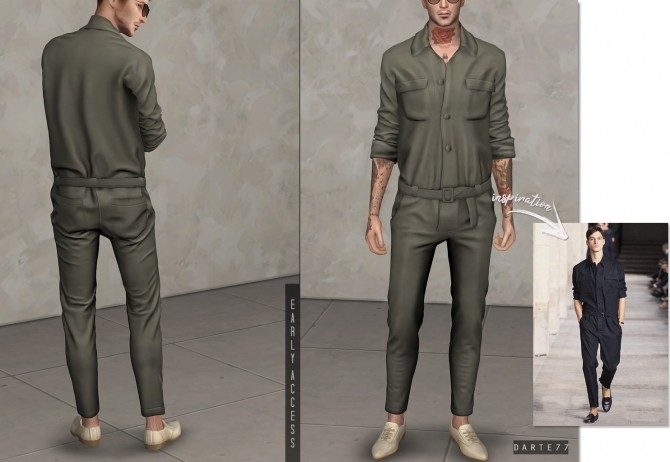 Casual Jumpsuit (P) at Darte77 image 8812 670x462 Sims 4 Updates