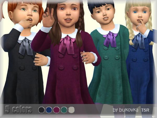 Sims 4 Dress Fold by bukovka at TSR