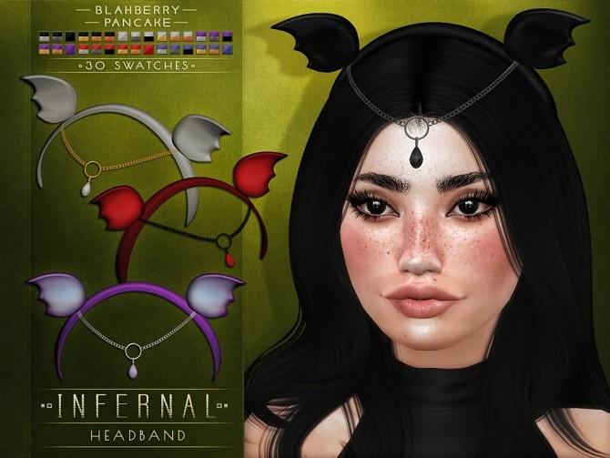 Infernal headband at Blahberry Pancake image 885 670x503 Sims 4 Updates