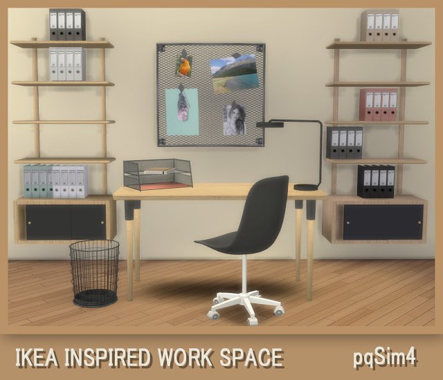 Ikea Inspired Work Space at pqSims4 image 887 Sims 4 Updates