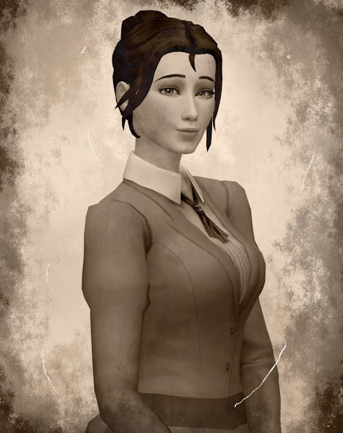 Sims 4 Took My Boot Bun Base Game Compatible Hair at leeleesims1