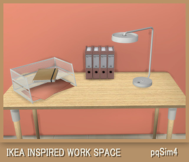 Ikea Inspired Work Space at pqSims4 image 897 Sims 4 Updates