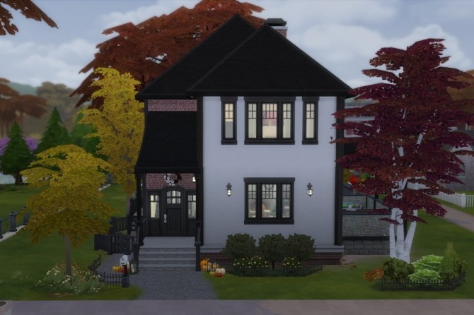 Autumn Craftsman house by Copper Penny at Mod The Sims image 905 670x446 Sims 4 Updates