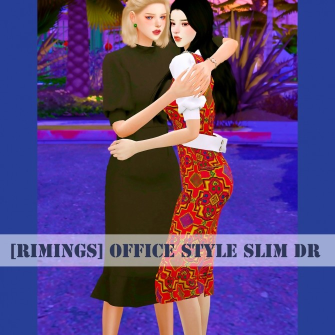 Sims 4 Office Style Slim DR at RIMINGs