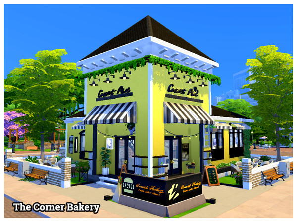 The Corner Bakery by Mini Simmer at TSR image 938 Sims 4 Updates