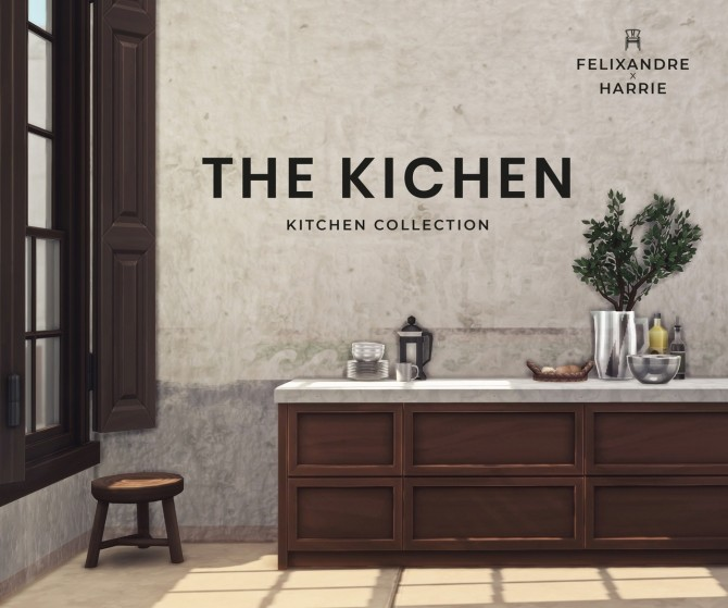 THE KICHEN collection 56 items at Harrie image 941 670x559 Sims 4 Updates