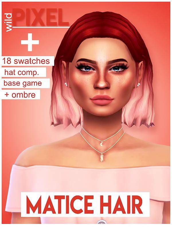 MATICE HAIR at Wild Pixel image 9511 Sims 4 Updates