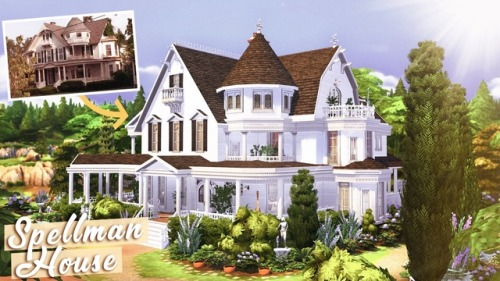 Sabrina the Teenage Witch's house at BERESIMS image 966 Sims 4 Updates
