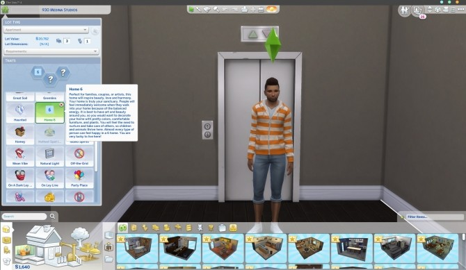 Sims 4 Home 6 Lot Trait   Harmonious Atmosphere by StormyWarrior8 at Mod The Sims