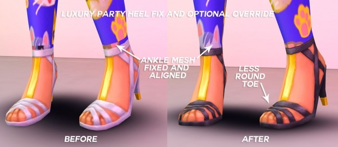 Laney Dress and Luxury Heels at Pickypikachu image 9710 670x291 Sims 4 Updates