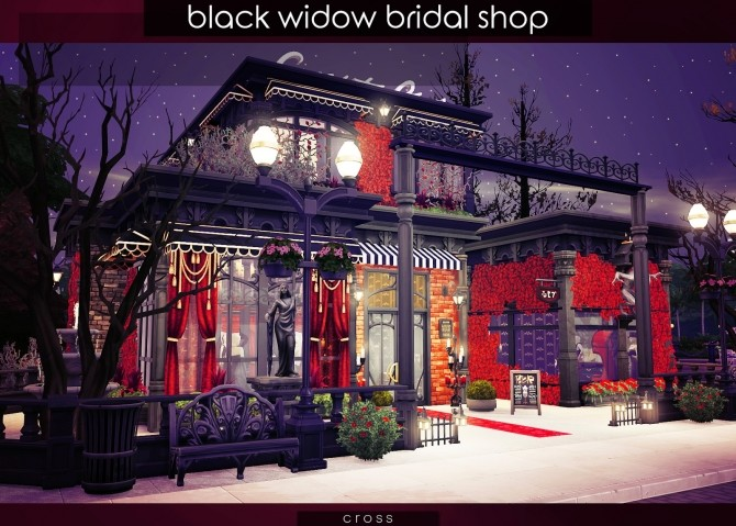 Black Widow Bridal Shop at Cross Design image 9711 670x479 Sims 4 Updates