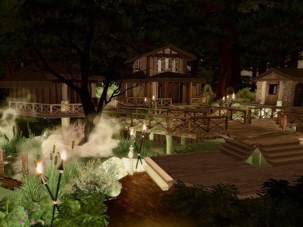 Sims 4 A Gloomy Place No CC by Sarina Sims at TSR