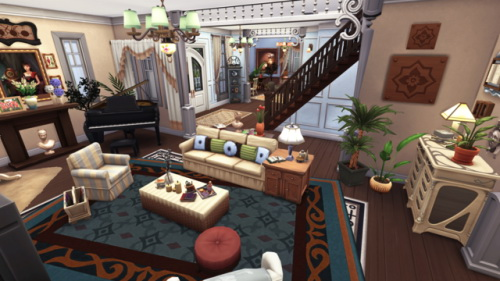 Sims 4 Sabrina the Teenage Witch's house at BERESIMS