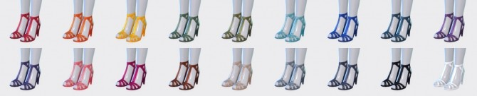 Laney Dress and Luxury Heels at Pickypikachu image 988 670x136 Sims 4 Updates