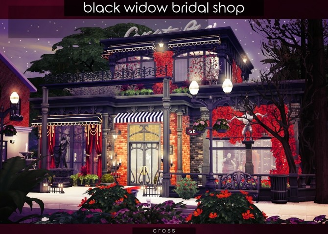 Black Widow Bridal Shop at Cross Design image 989 670x479 Sims 4 Updates