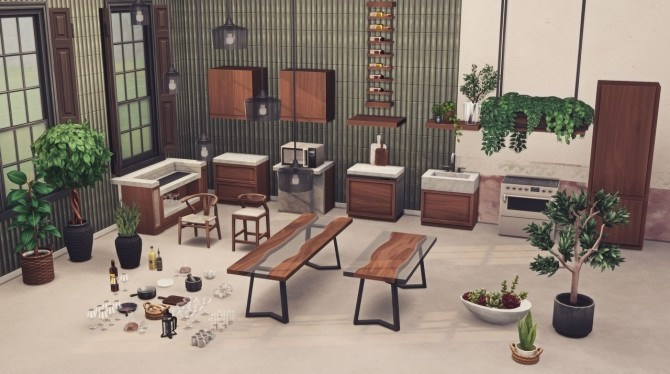 THE KICHEN collection 56 items at Harrie image 991 670x374 Sims 4 Updates