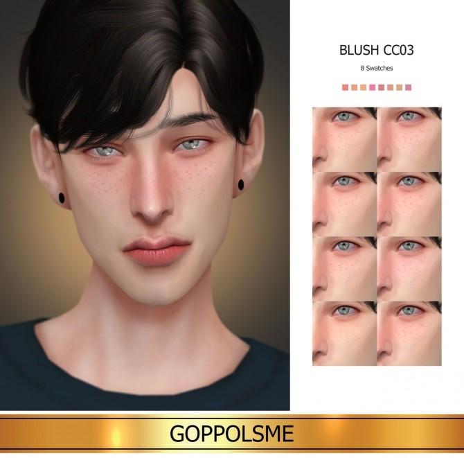Sims 4 GPME GOLD Blush CC03 (P) at GOPPOLS Me
