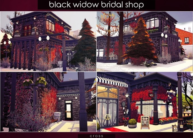 Black Widow Bridal Shop at Cross Design image 9911 670x479 Sims 4 Updates