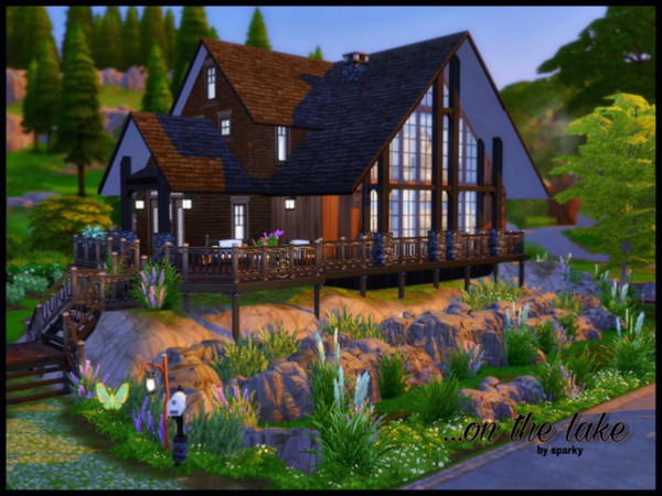 On The Lake house by sparky at TSR image 1 Sims 4 Updates